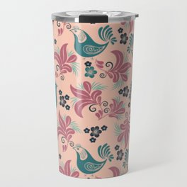 Bird in the nest Travel Mug
