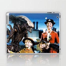 Alien in Mary Poppins Laptop & iPad Skin