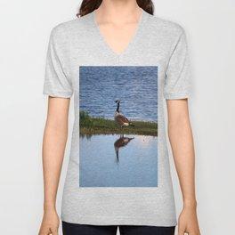 Goose Reflection Unisex V-Neck