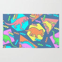 Nineties Dinosaur Pattern Rug