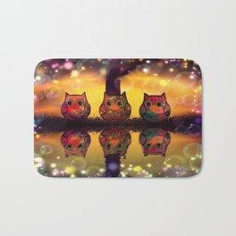 owl 126 Bath Mat