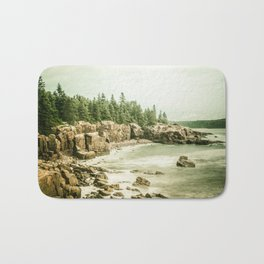 Acadia National Park Maine Rocky Beach Bath Mat