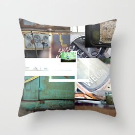 Super Sick of Rules Throw Pillow