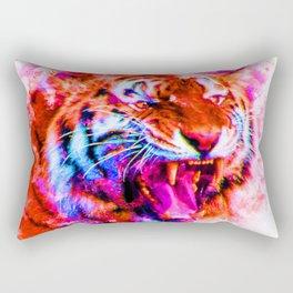 Cosmic Tiger Rectangular Pillow