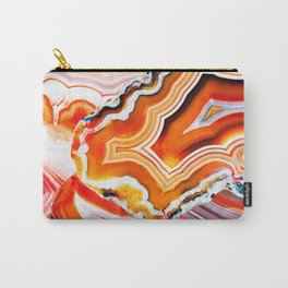 The Vivid Imagination of Nature, Layers of Agate Carry-All Pouch