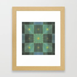 snakskin Framed Art Print