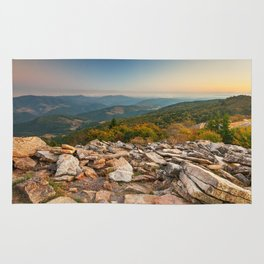Spruce Knob Mountain Sunset Rug