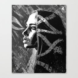 Fiona Apple b&w Canvas Print