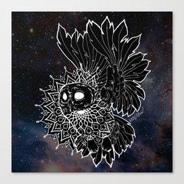 Space Owl Canvas Print