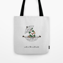Wok On The Wild Side Tote Bag