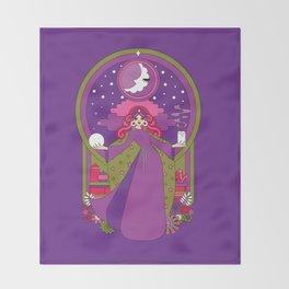 Moon Magic Throw Blanket