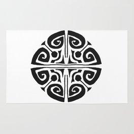 Tatouage Rond - round tatoo mandala - 3 Rug