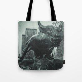 Triumph of the Bull Tote Bag
