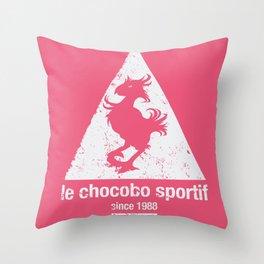 Chocobo Sportif Throw Pillow