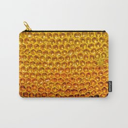 Yellow honey bees comb Carry-All Pouch