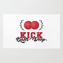 KICK BALLS DEEP Rug