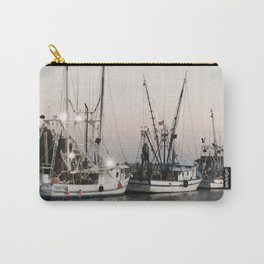 Fishing Boats on the Water at Sunset Carry-All Pouch