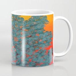 Turquoise tree Coffee Mug