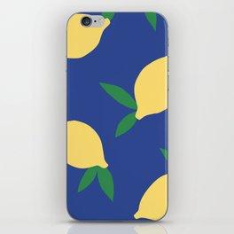 Lemons - Collage iPhone Skin