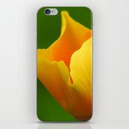 Glowing Yellow iPhone Skin