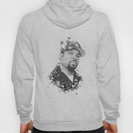 Ice Cube splatter painting Hoody