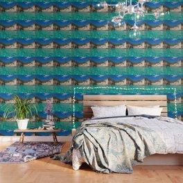 blue lagoon paradise Wallpaper