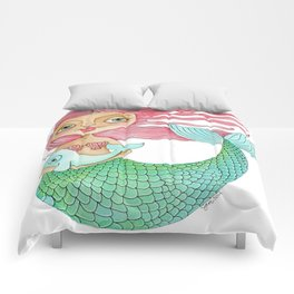 Mermaid and Narwhal Comforters