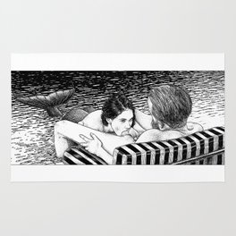 asc 793 - Le rivage de velour (Dive in a velvet slide) Rug