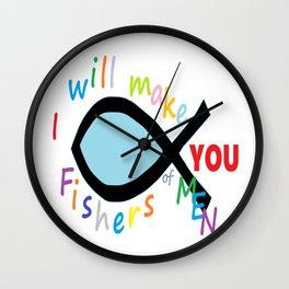 Fishers of Men Wall Clock