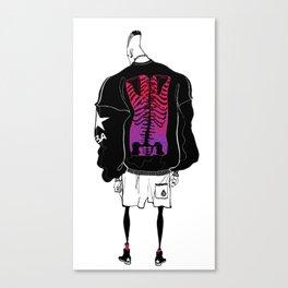 Fashion Figure 01 Canvas Print