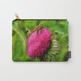 The thistle and a fly Carry-All Pouch