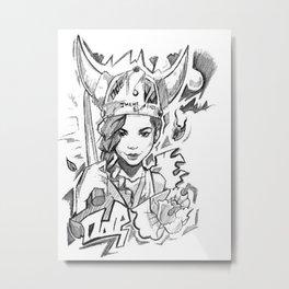 aiko x ode Metal Print