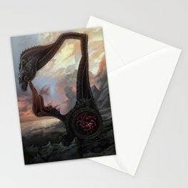 The last dragon Stationery Cards