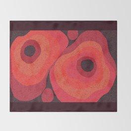 Danish Digital Flower Rug Throw Blanket