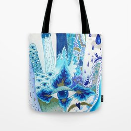 Hand of Protection Tote Bag