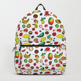 Tuti Fruti Quirky Tropical Fruit Pattern Backpack