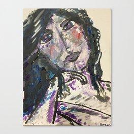 A Portrait of the Artist Canvas Print