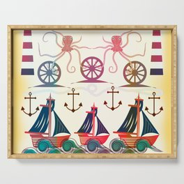 Sailor Serving Tray