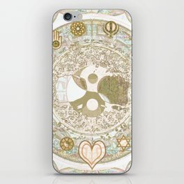 Let Love Be the Foundation iPhone Skin