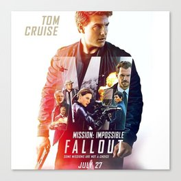 Mission Impossible 2018 Canvas Print