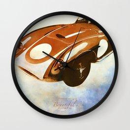Classics Car X Wall Clock