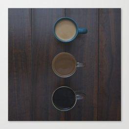 Café, S'il Vous Plait Canvas Print