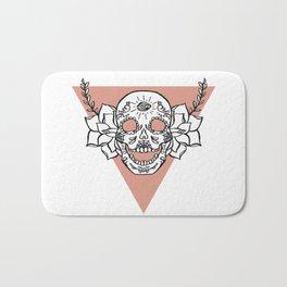 candy skull Bath Mat