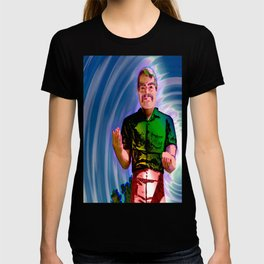 Muffler Man emissary from the stars welcomes humanity into galactic brotherhood T-shirt