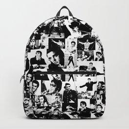 Elvis Presley pattern Backpack