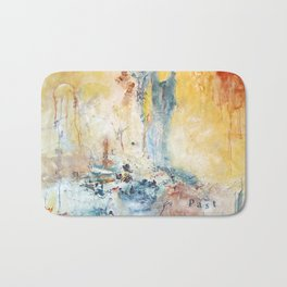She Comes With A Past by Nadia J Art Bath Mat