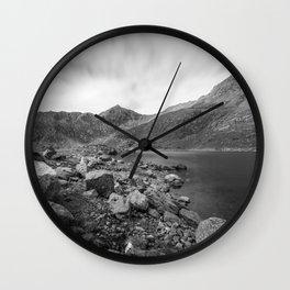 Rocky trail Wall Clock