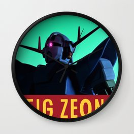 sieg zeong Wall Clock