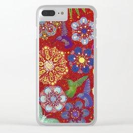 Nature filigree Clear iPhone Case
