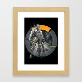 Genji Framed Art Print